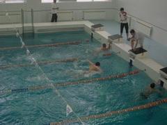 «Юность Орска» в бассейне