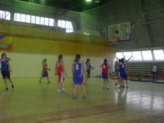 «Баскетбол» в бассейне